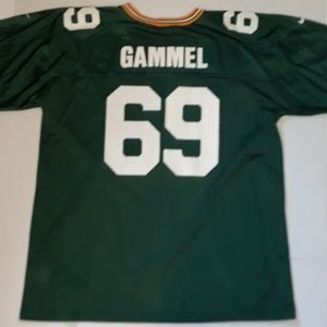 Green Bay Packers 69 Gammel Nike Jersey 2XL